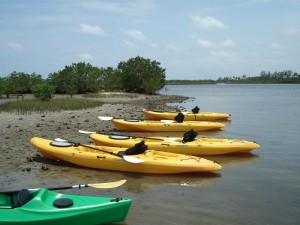 Kayak rentals and tours in Palm Beach County Florida.