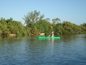 Kayaking in the Snook Islands