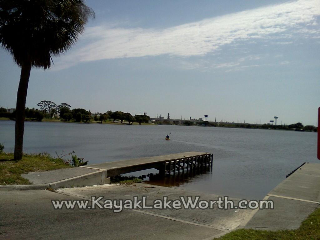 Kayaking on Lake Osborne, Palm Beach County FL